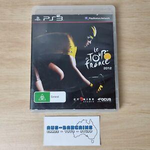 le Tour de France 2012 - PS3 PlayStation 3 R4 AUS PAL with manual