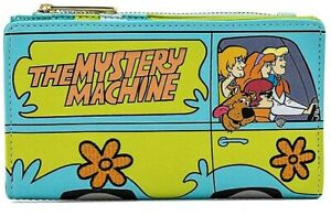 Loungefly Scooby Doo Mystery Machine Gang Retro Flap Wallet - NEW w/ Tags!