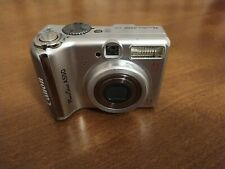 Canon PowerShot A550 7.1MP Digital Camera Silver