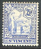 St Vincent 1907 blue 2.5d mint SG97