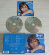 BOX 2 CD ALBUM 10 ANS DE BACHELET POUR TOUJOURS - BACHELET PIERRE 35 TITRES