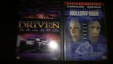 DRIVEN, used movie DVD, 2001/Hollow Man DVD, 2001, Special Edition
