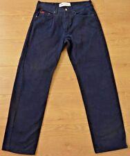 Lee Cooper LC10ZP Classic Straight Fit Dark Blue Jeans Size 32W 30L