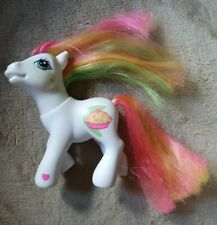 My Little Pony G3 Coconut Cream 2004 White pony green pink and yellow hair