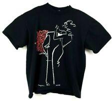 Vintage Ty Wilson The Date Tee Shirt 90s Streetwear USA Art 2 Wear XL