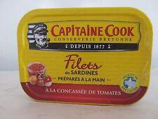 Capitaine Cook, Sardinen in Tomatenmark, Reingewicht: 100g ATG: 65g