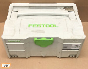 Festool Systainer SYS 2 T-Loc Stackable Tool Box Case (72)