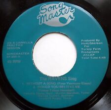 RAVENS 45 EP Without A song / Would You Believe Me NEAR MINT Doo Wop bb3346