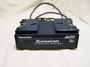PANASONIC ANTON BAUER SUPERCAM LIFESAVER pro video camera CHARGER MODEL ABC800