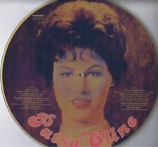 "PATSY CLINE Self Titled PD-205 Vinyl 12"" LP33 Picture Disc Country Record Album"