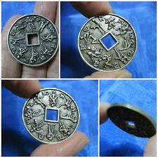 Silver Coin Kama Sutra Thai Amulet Token Surprise 16 Lovers & Sex F16-F1