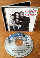 WOMACK & WOMACK - CONSCIENCE RARE ORIGINAL ISSUE CD BRCD 519