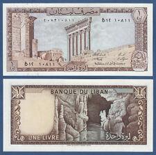 Libano/Lebanon 1 livre 1980 UNC p.61 C
