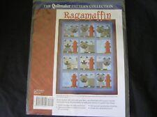 RAGAMUFFIN Quilt Pattern, Terrier Dog & Fire Hydrant
