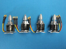 4X NTM PROP DRIVE BRUSHLESS MOTOR SET 28-30S 800Kv 3S-6S + PROP ADAPTER & MOUNTS