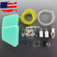 Carburetor Carb For Craftsman 18'' 42cc Chainsaw Air Filter Tune Up Kit Gasket