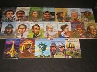 Who Was What Was Where Is Biographies Chapter  Book Lot Teacher School Book Lot