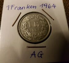 1 Franken 1964 Silber