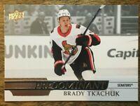 2020-21 UD Predominant - BRADY TKACHUK #PR-4 Ottawa Senators