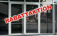 """3 Aufkleber """"RABATTAKTION"""" Beschriftung Rabatt Schaufensterbeschriftung Werbung"""