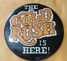 Frontier Casino Las Vegas, Nevada Vintage Vault The Gold Rush Is Here Button!