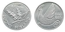 100 liiraa 1995 - 50 anni Nazioni Unite-Argento