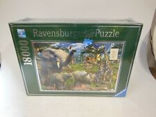 Ravensburger Puzzle At the Waterhole 18000 Piece Jigsaw Puzzle (sealed)