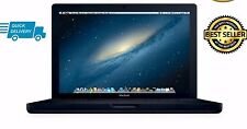 "Apple MacBook 13"" Core 2 Duo  2.0GHz 4GB 250GB HDD MB404 2008 A1181 BLACK"