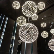 Luxury 12inch 10W LED Firework Pendant Lamp Ball-Shape Ceiling Light Bedroom Bar