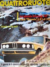 Quattroruote 242 1976 Pro e contro della BMW 320i. Piccola Renault 14 [Q93]
