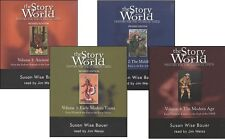 Susan Wise Bauer - Jim Weiss - Story of the World Audiobook Combo Pack - NEW