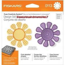 Fiskars Fuse Creativity Design Set 0113 FLOWER Die Cut & Letterpress in one pass