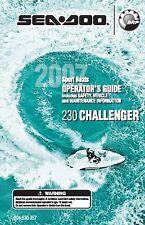 Sea-Doo Owners Manual Book 2007 230 CHALLENGER & 230 WAKE