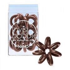 Invisibobble Nano pretzel brown 3er Beutel