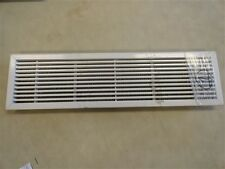 "AIR VENT COVER WITH FILTER OFF WHITE ALUMINUM 25 7/8"" X 6 7/8"" MARINE BOAT"