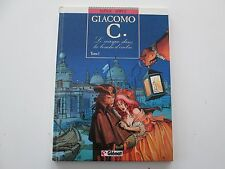 GIACOMO C T1 EO1988 TBE/TTBE LE MASQUE DANS LA BOUCHE D'OMBRE EDITION ORIGINALE