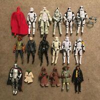 Star Wars Black Series Action Figure Lot of 18 - Hasbro - Jawas, Troopers, etc.