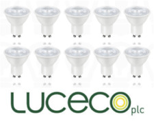10 Pack Luceco Truefit LED GU10 7W 6500K Cool White 500 Lumens Wide Beam A+