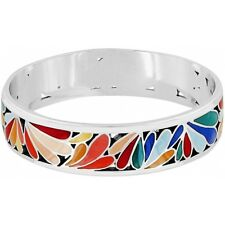 NWT Brighton WATERGARDEN Water Garden Enamel Bangle Bracelet MSRP $$78