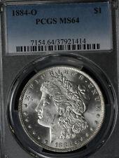 Beautiful Near GEM Uncirculated 1884-O Morgan Silver Dollar - PCGS MS64!
