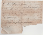 Slave Document for CSA Soldier Who Delivered Grant's Surrender Terms to Lee