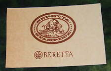 Beretta Reproduction GUNMAKER GUN CASE LABEL  Accessories