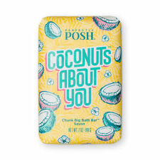 Perfectly Posh -  Coconuts About You Chunk Big Bath Bar - New - Free Shipping!