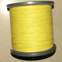 28awg Yellow Soft Silicone Wire X20M Bending & Cold-freeze & High-temp Resistant