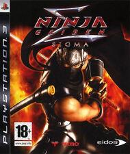Ninja Gaiden Sigma Ps3 UK PAL Sony PlayStation 3 HD Ryu Hayabusa DOA