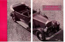 1930 PIERCE-ARROW 7-PASSENGER TOURING ~ ORIGINAL 6-PAGE 1962 ARTICLE / AD