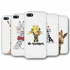 For iPhone 5 5S Silicone Case Cover Giraffe Collection 2