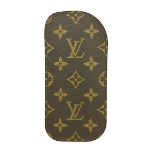 Louis Vuitton Monogram Etui a Lunettes Rabat Glasses Case/F0854