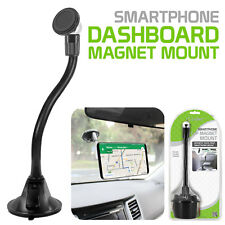 Universal Car Cup Holder Magnetic Cell Phone Mount Flexible Goose Stand Samsung