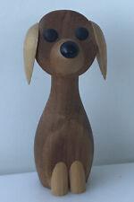 Laurids Lonborg Teak Dog Figure Denmark Gunnar Florning Danish Modern